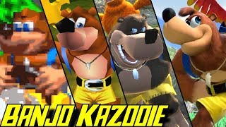 Evolution of Banjo Kazooie (1997 - 2019)
