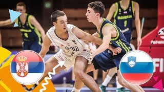 LIVE Serbia v Slovenia Round of 16 FIBA U16 European Championship 2018