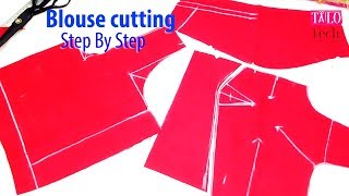 Blouse cutting video step by step clear explanations tailoring class for beginners