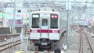 【検明け東武10050系草加回送】東武10050系11659F入線~到着・発車 thumbnail