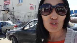2014 Улан-Удэ пробки - общественный транспорт - Лариса Будаева из Кыргызстана