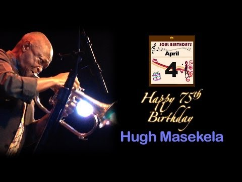"Hugh Masekela ""Grazing In The Grass"" live at the Kuumbwa, March 24th, 2014"