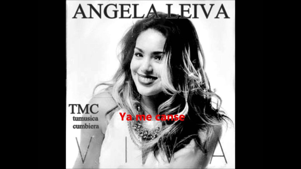 Angela Leiva 2016 Ya Me Canse Youtube