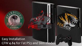 EASY CFW 4.84 Rebug Cobra, Ferrox, HABIB install
