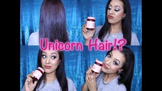 Unicorn Hair has been the trend for a little while now. So whilst I...