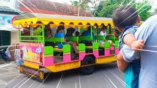 Gambar cover Naik Odong-odong Kereta Api Tut Tut Tut 💞 Lagu Anak Disini Senang Disana Senang 💞 Riska Incess