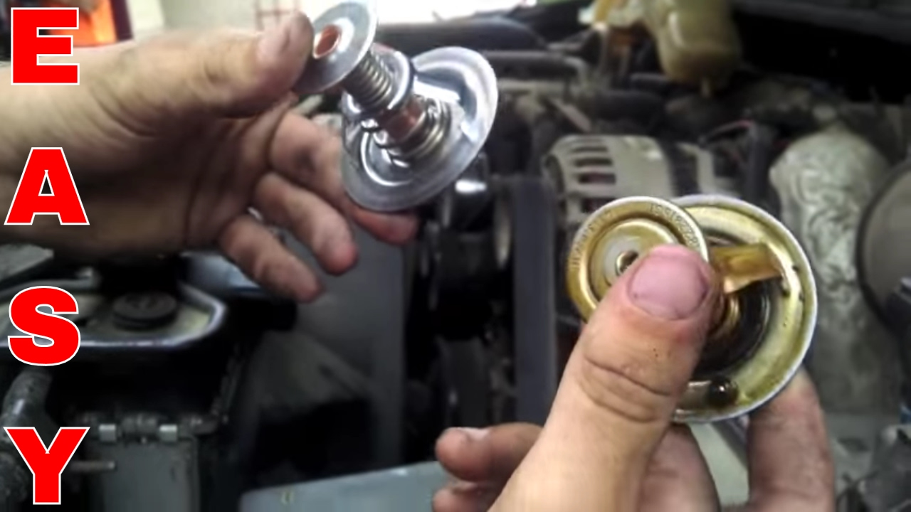 thermostat replacement for 1996 2003 ford 7 3 liter diesel [ 1280 x 720 Pixel ]