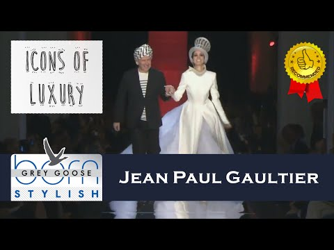 Jean Paul Gaultier in 'Icons of Luxury' on Grey Goose Born Stylish