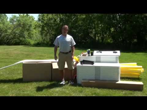 HOW TO BUILD A BACKYARD ICE RINK - NiceRink - YouTube
