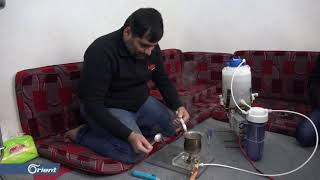 طاقة وغاز ونار من الماء فقط.. من ابتكار نازح سوري - سوريا