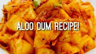 Hot & Spicy Aloo Dum - Nepali Style (Quick & Tasty Nepali Food Recipe)