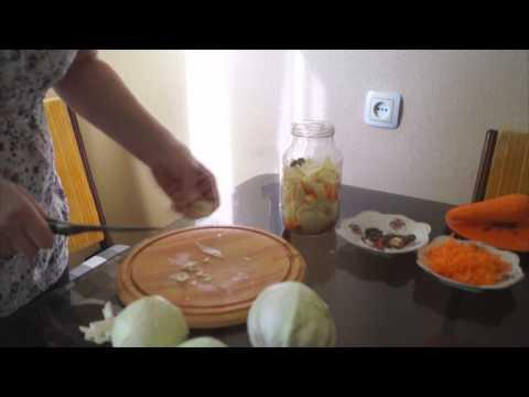 Как сделать капусту покорейски