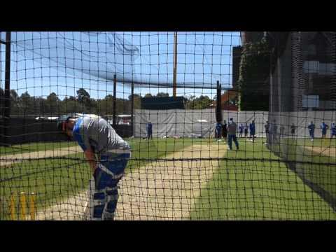 Rick Foster Aussie Nets Bowling