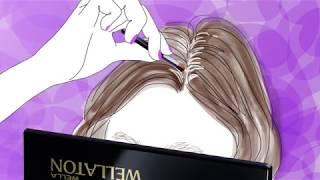 お出かけ前にも、お出かけ先でも 密着パウダーで髪のメイク直し。 ウエ...