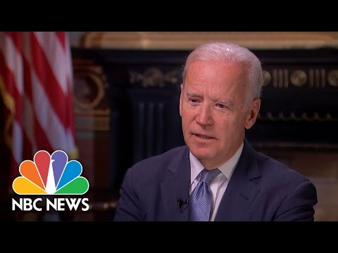 Joe Biden On Barack Obama: 'I don't Like Him. I Love Him.' | NBC News