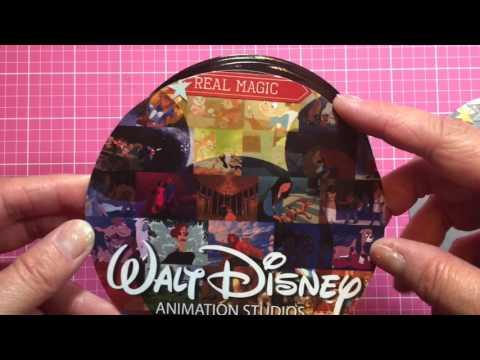 Disney Record Embellishments