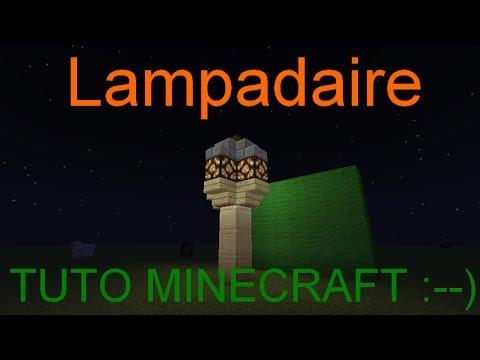 minecraft comment faire un lampadaire qui sallume la nuit et steind je jour youtube - Lampadaire Minecraft