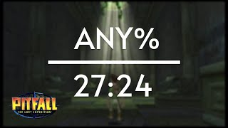 Pitfall: The Lost Expedition any% Speedrun (27:24)