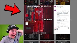 Reacting To NBA Hip Hop Jersey Concepts For Every Team!