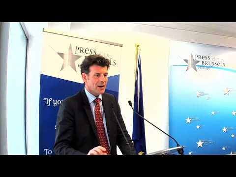 Ambassador Roberto Balzaretti, press conference, Bruxelles, 3.4.2017