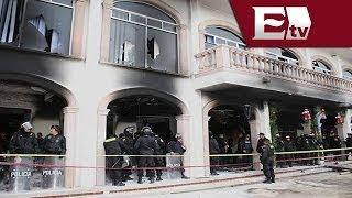 Habitantes de Huehuetoca incendian Palacio Municipal / Comunidad con Jazmín Jalil