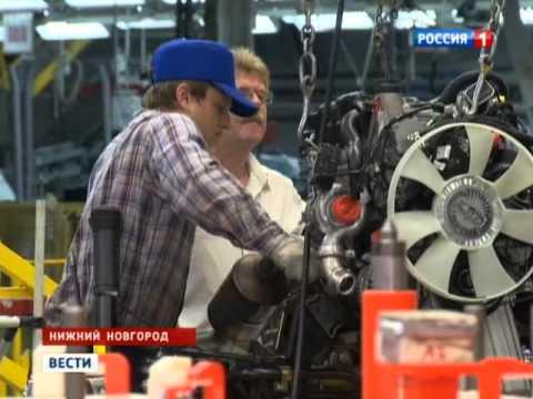 ГАЗ начал сборку автомобилей Mercedes-Benz