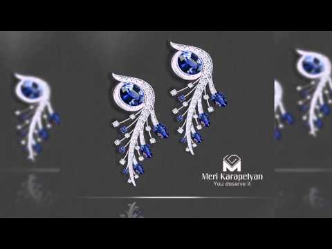Nocte Pavo Set - Luxury & Fine Jewelry by Meri Karapetyan