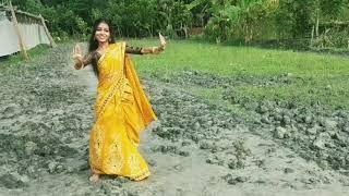 Purnima Sondhay Tomar Rojonigondhay || পূর্ণিমা সন্ধায় তোমার রজনীগন্ধায় || Dance: Dola Biswas