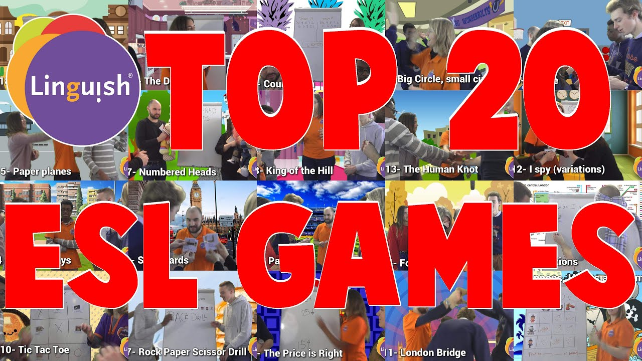 Download TOP 20 ESL games to get your students talking! - Linguish
