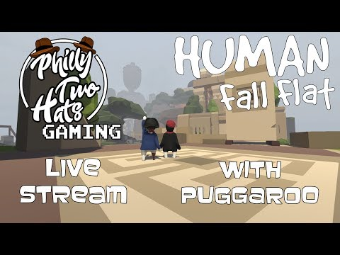 Human Fall Flat #1 Floppy Aztec Fun With Puggaroo Part 1 (60fps)