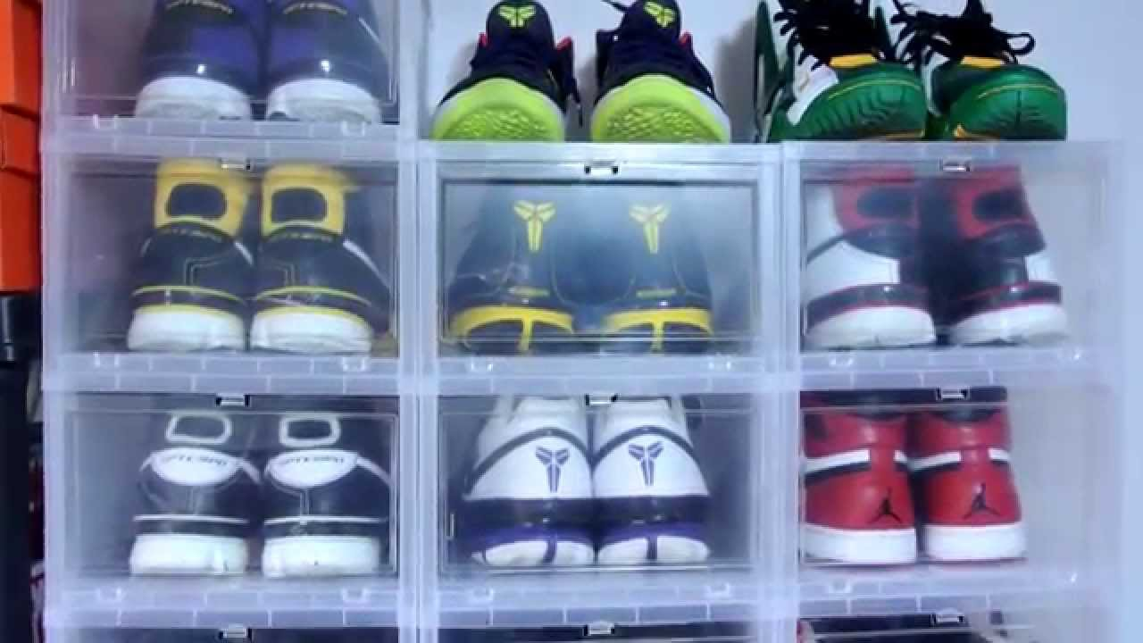 sc 1 st  YouTube & Plastic Boxes for Sneaker Storage/Display! - YouTube