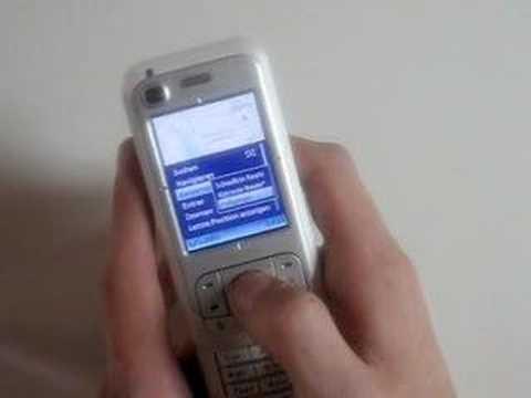 Review: Nokia 6110 Navigator [German]