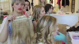 видео Свадебные прически с накладными прядями