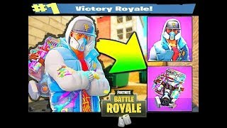 I BOUGHT the SKIN OF ABSTRAKTO COSTUME GRAFFITI and I KILLED GENERAL KKKK Fortnite Battle Royale ★