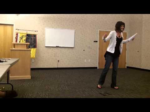 Stacy Dymalski - Humorous Speech Contest - YouTube