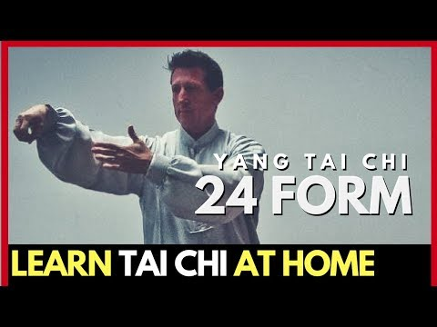 Beautiful Demonstration of Tai Chi 24-Form | Learn Tai Chi at Home | Master David-Dorian Ross