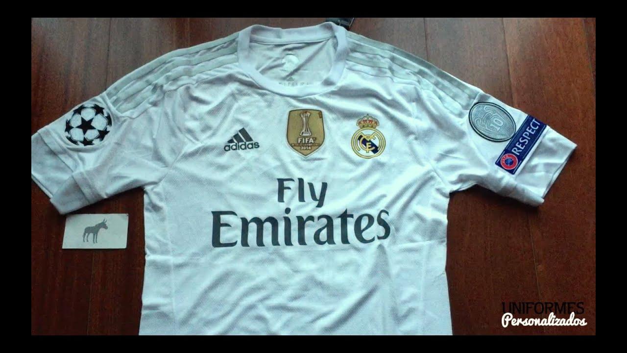 689ba71702611 Real Madrid 15-16 (Playera adizero Local) UEFA Champions League ...