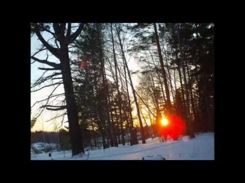 Погода в Томске 04.02.2015 г.: оплавленный Солнцем снег,-12С.