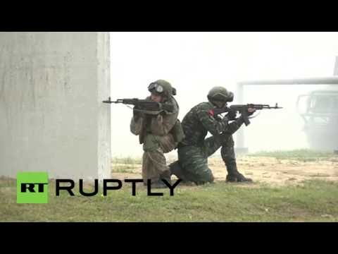 Russia: Russian and Chinese special forces hold joint anti-terror training operation
