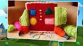 Мягкий развивающий кубик «Дотронься и почувствуй» Taf Toys (Таф .