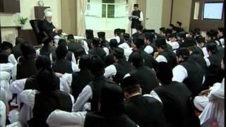 Huzur Ke Saath Tulaba Jamia Ki Nashist, 28 Mar 2009, Islam Ahmadiyya