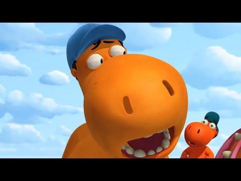 Мультики - Кокоша, Маленький Дракон - С небес на землю - Новые мультфильмы для детей