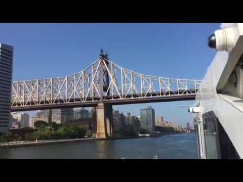 Take NYC Ferry From LIC To Roosevelt Island - Fantastic Views And  Less Than 5 Minutes