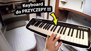 Kupiłem Keyboard do Przyczepy Kempingowej !!! + Zimowanie Starej Przyczepy (Vlog #360)