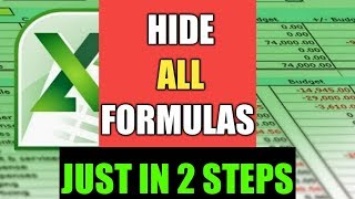 How to hide formulas in Excel By Cool Trick