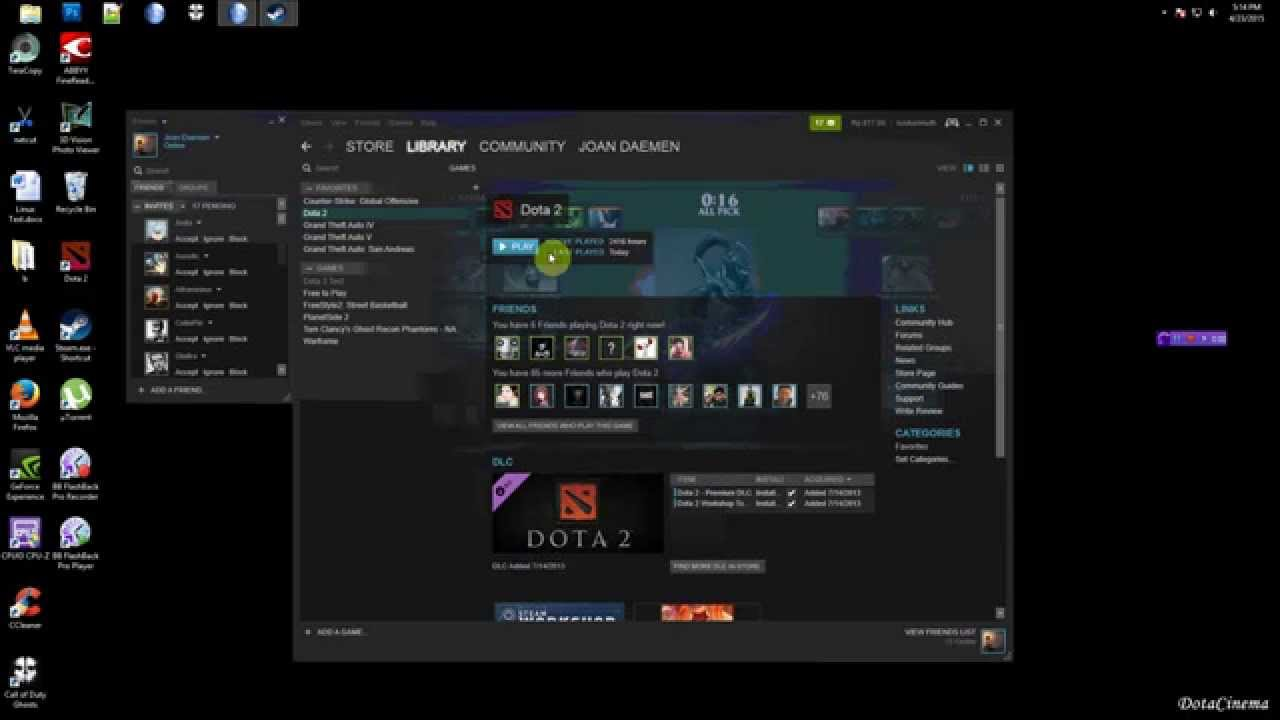 i can t play dota 2 because syncing youtube