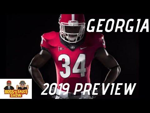 georgia-football-2019-preview- -boss-and-da-sauce-show