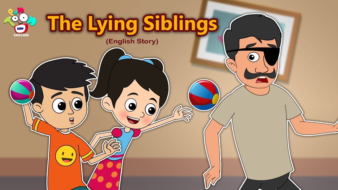 The Lying Siblings   Consequences Of Lying   Moral Stories For Kids   PunToon Kids English