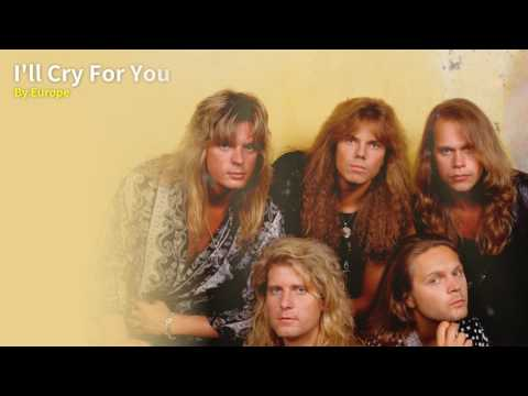 Europe - I'll Cry For You Karaoke