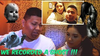 Omg!!! We recorded a Ghost (Reaction) **speechless**+ small |Vlog|